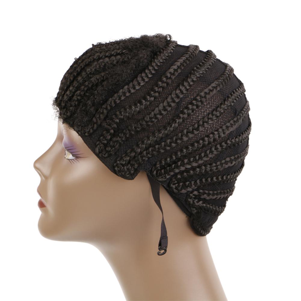 Cornrow Synthetic Braids Wigs Cap For Making Crochet Box