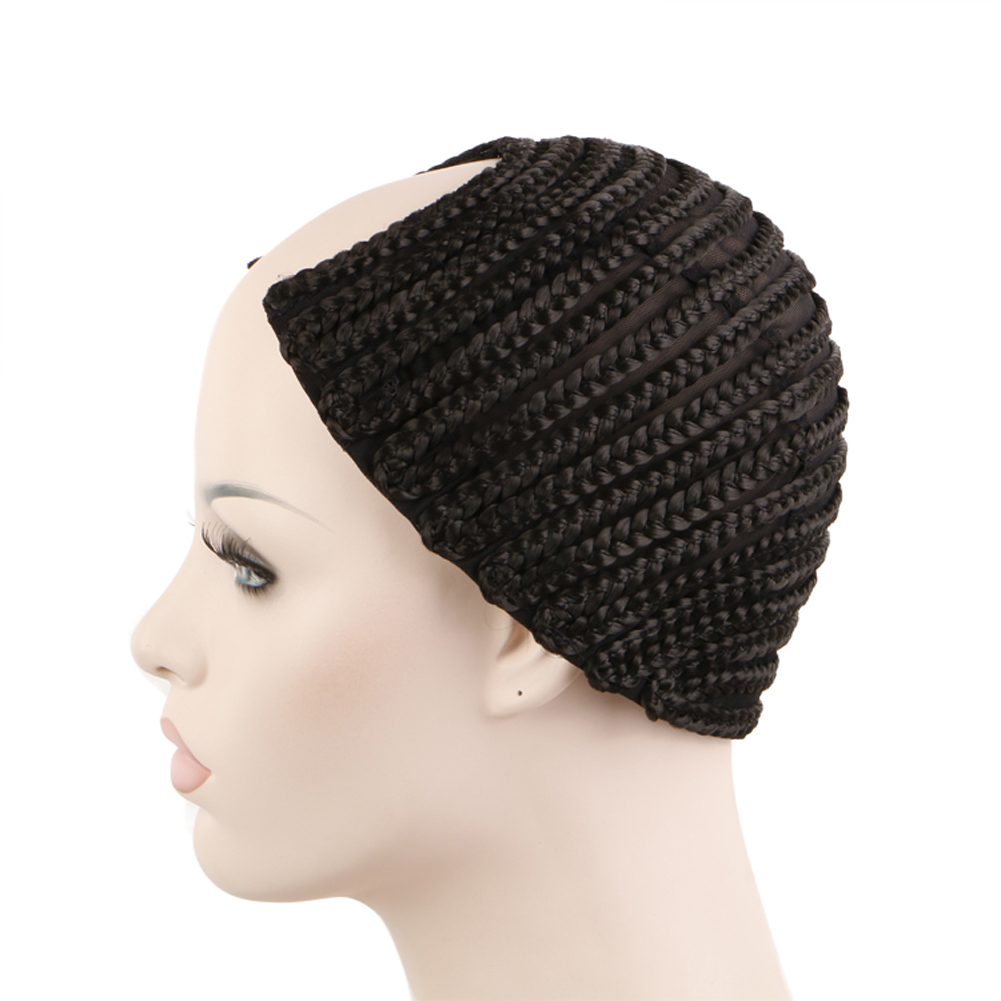 Cornrow Synthetic Braids Wigs Cap For Making Crochet Box